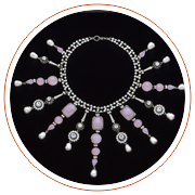 Festoon necklace, 