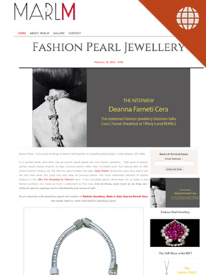 Fashion Pearl Jewellery Feb. 16, 2014