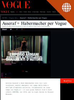 Asseraf + Habermacher per Vogue Sept. 24, 2013